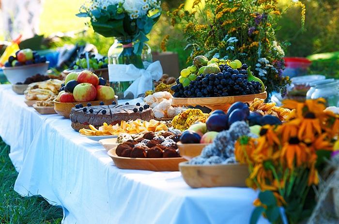 Festliche Herbsttafel