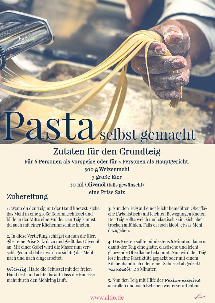 Rezept Pasta Grundteig
