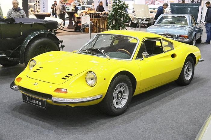 Ferrari 246 GT Oldtimermesse Hamburg