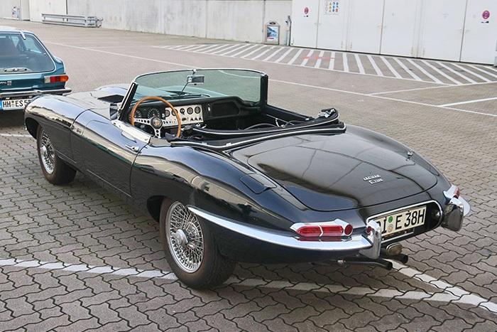 Jaguar E-Type Oldtimermesse Hamburg