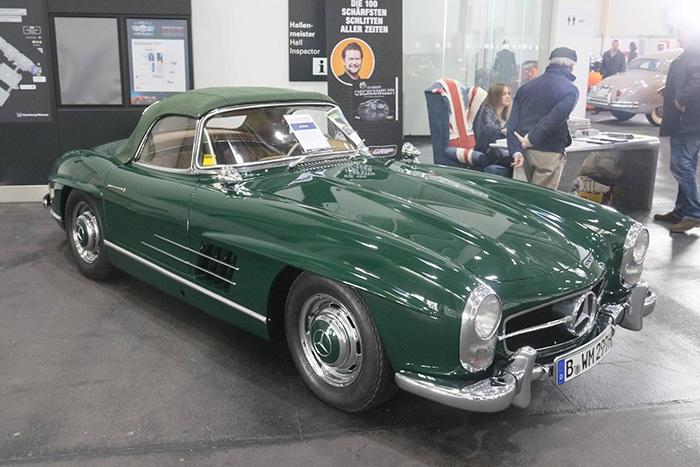 Mercedes 300 SL Oldtimermesse Hamburg