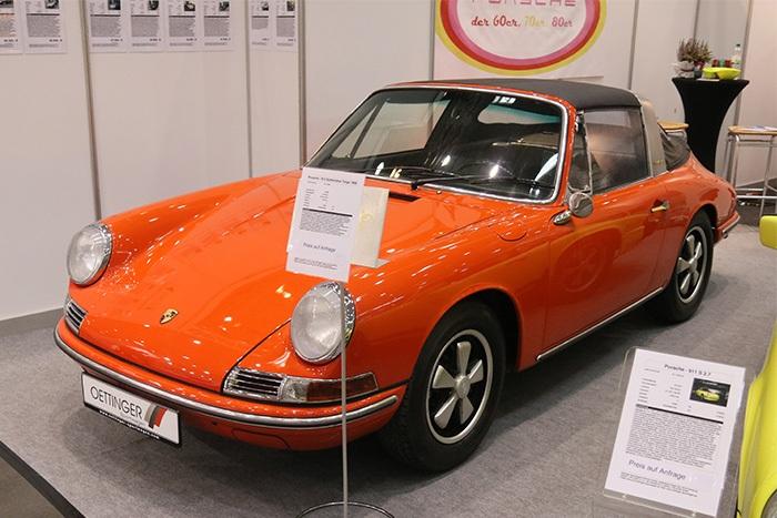 Porsche 911 F-Modell Oldtimermesse Hamburg