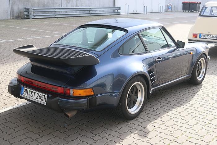 Porsche 911 G-Modell Oldtimermesse Hamburg