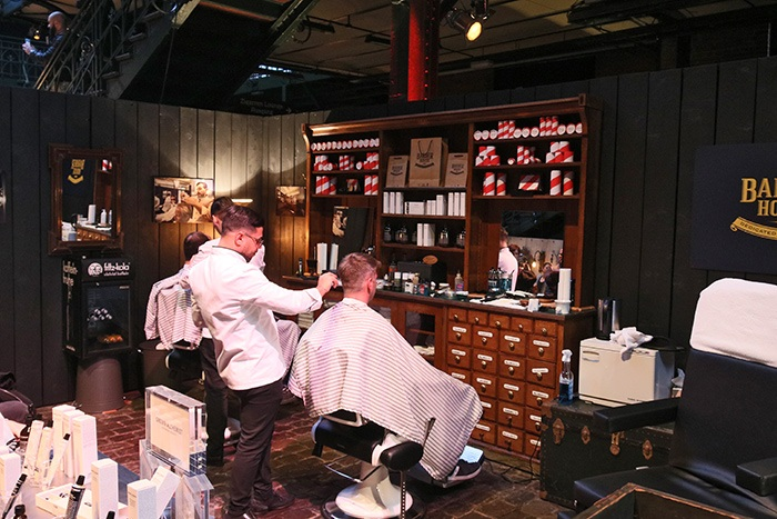 Mans World Hamburg 2017 - Friseur