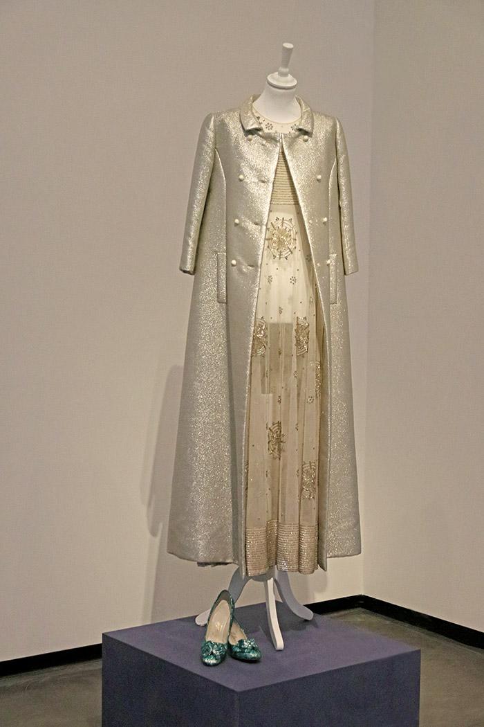 Mila Schön, Kleid und Mantel 1966