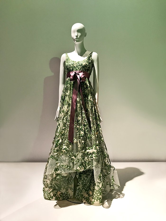 Oscar de la Renta Abendkleid 1998