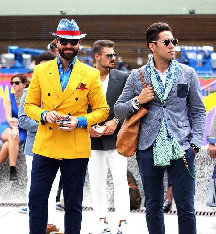 ALDO Men - Fashion uomo pitti Florenz