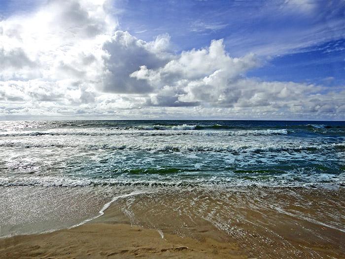 Das weiße Kleid - Sylt Strand