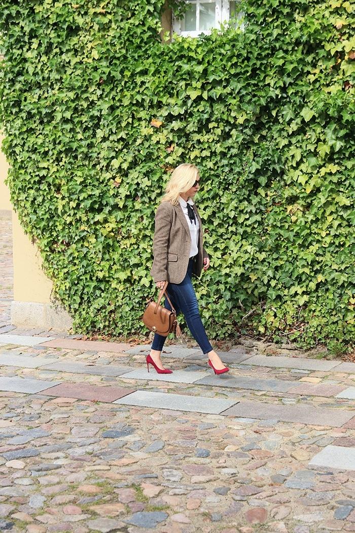 Mein Look: So style ich meinen Tweed-Blazer - Relana