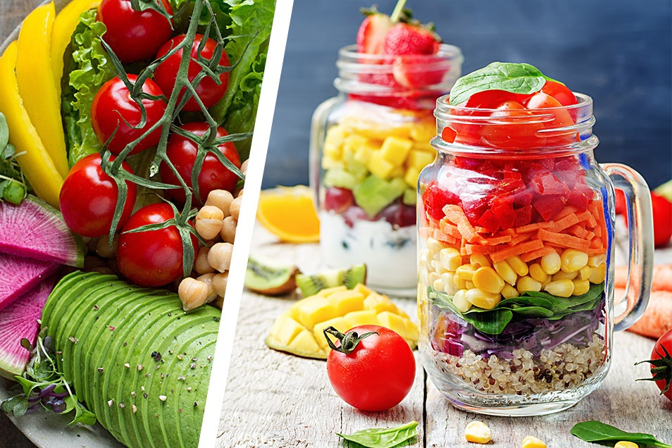Salat im Weckglas Gesunde Rezepte Relana Dombetzki ALDO Magazin