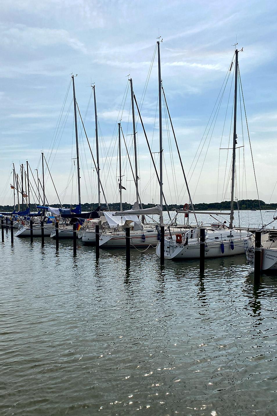 Hafen Schleswig Segelboote Relana Dombetzki ALDO Magazin