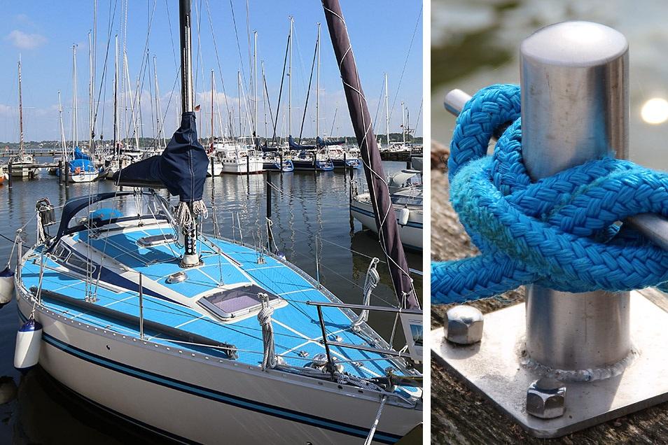 Segelboot Hafen Schleswig Relana Dombetzki ALDO Magazin