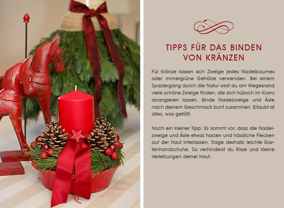 Tipps Adventskranz Weihnachten Relana Dombetzki ALDO Magazin