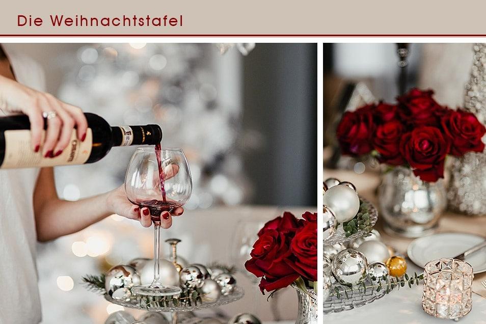 Weihnachtstafel Tischdekoration Dinner Relana Dombetzki ALDO Magazin