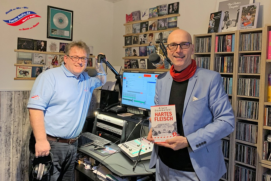 Interview Förde-Radio Alwin Dombetzki Relana Dombetzki ALDO Magazin
