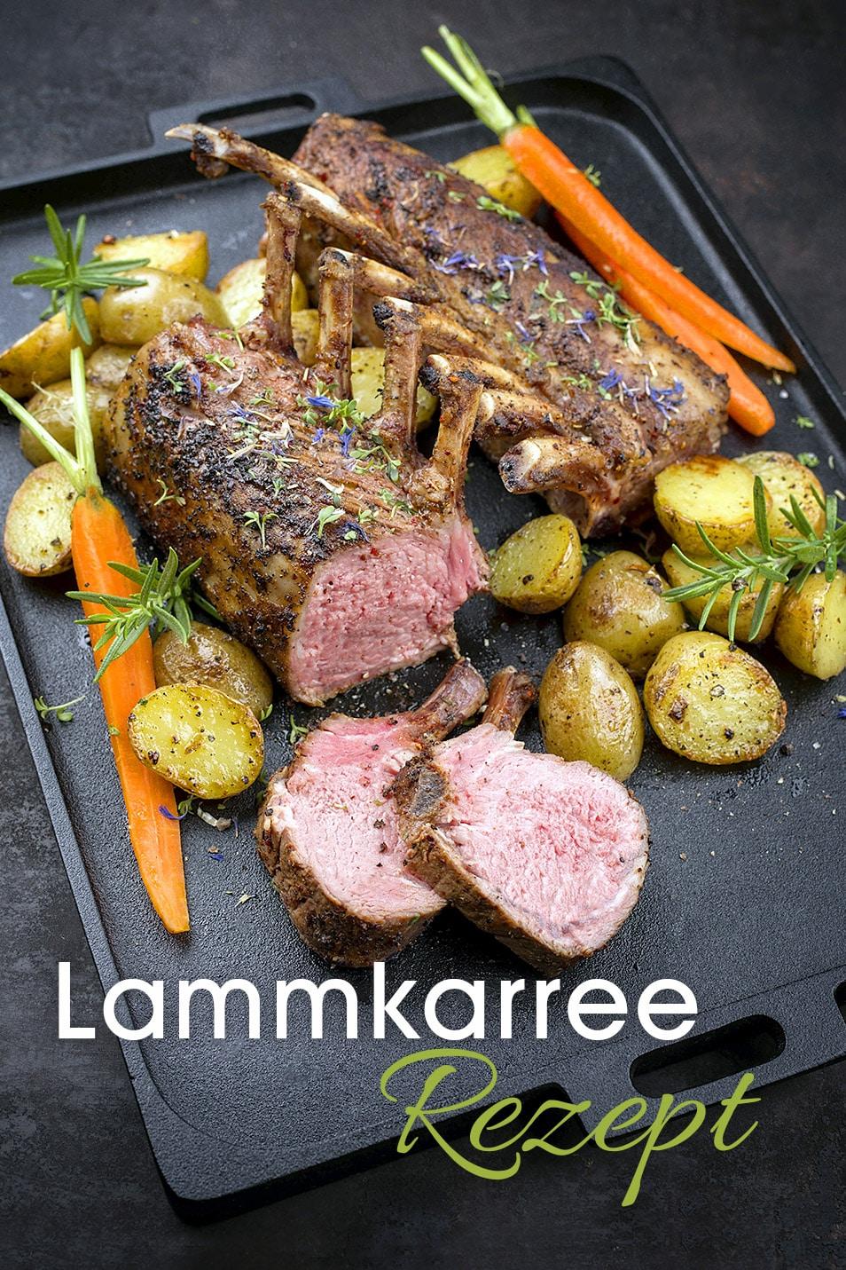 Lammkarree Rezept Fruehling Genuss Relana Dombetzki ALDO Magazin