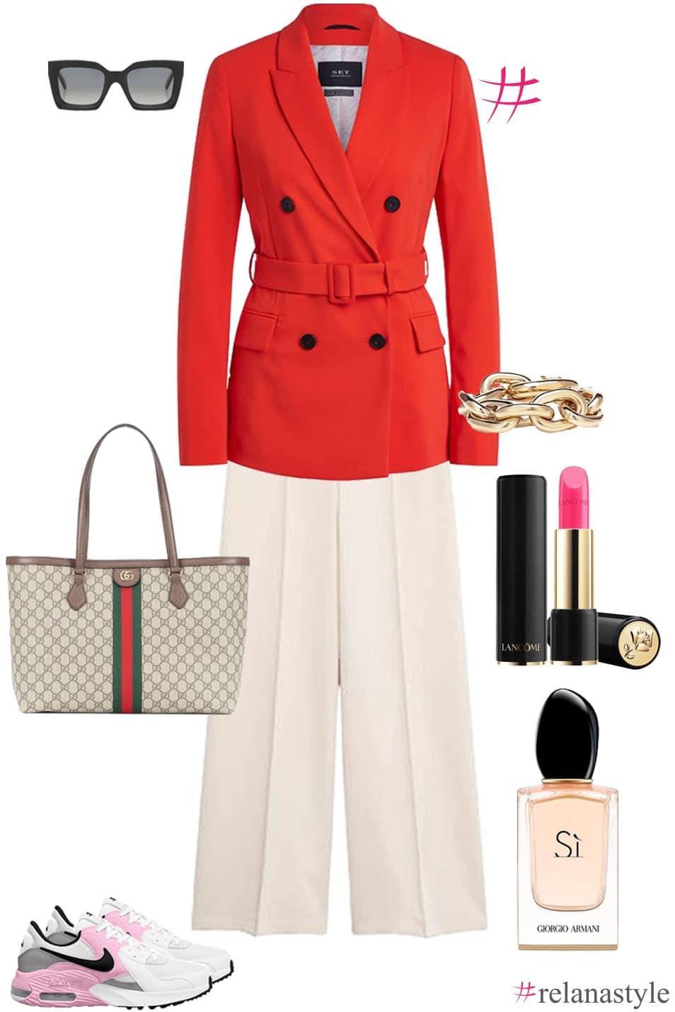 Outfit Inspiration Blazer relanastyle Relana Dombetzki ALDO Magazin