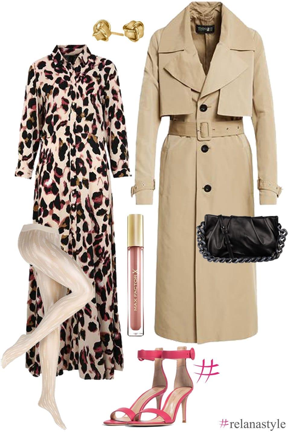 Outfit Inspiration Trenchcoat relanastyle Relana Dombetzki ALDO Magazin