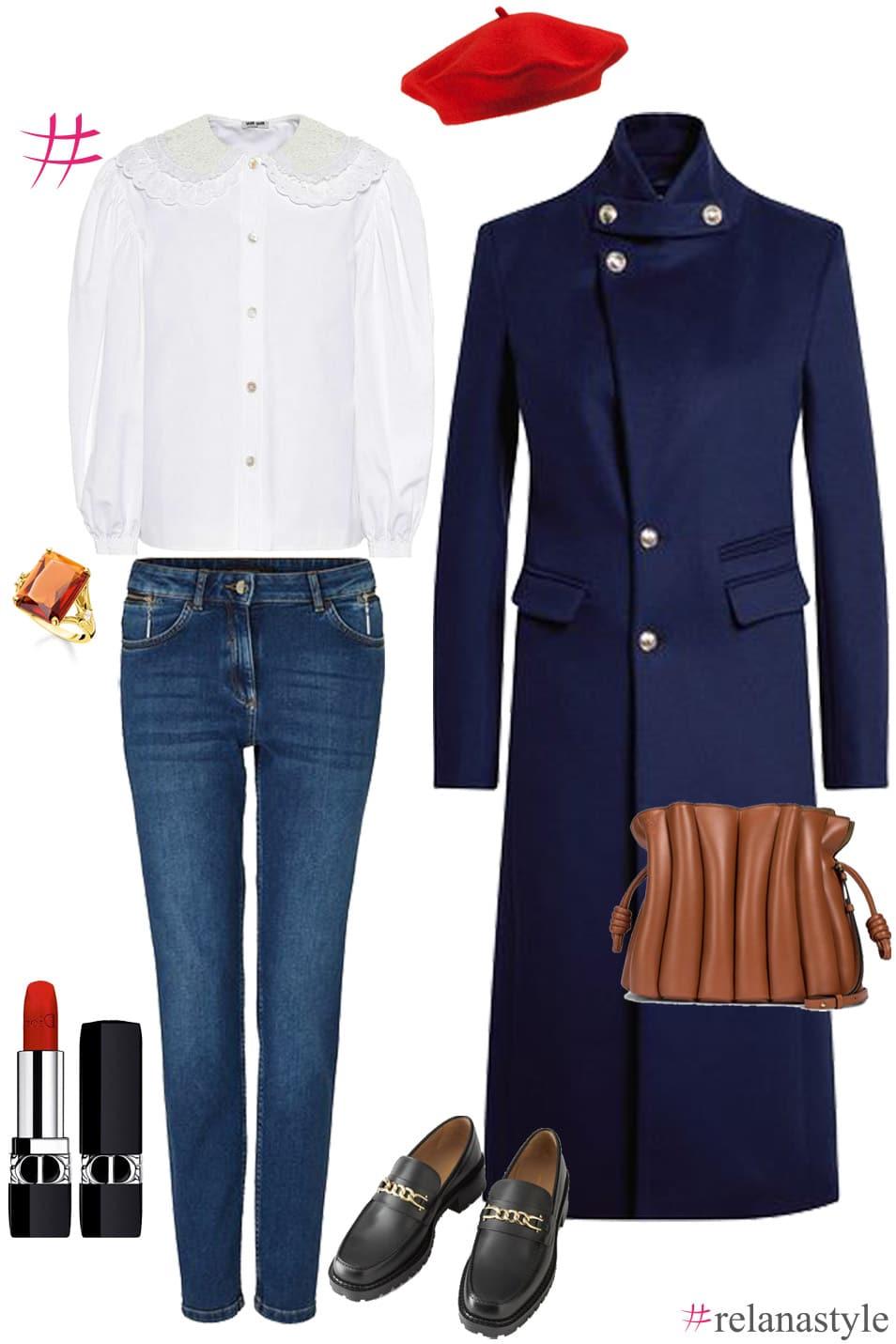 Outfit Inspiration weiße Bluse relanastyle Relana Dombetzki ALDO Magazin